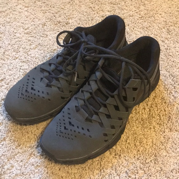 "2f1603a3baf7 Black men s Nike ""lunar finger trap"" trainers. M 5b83415a5a9d21d2f33aed48"